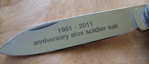 Silver Soldier Blade